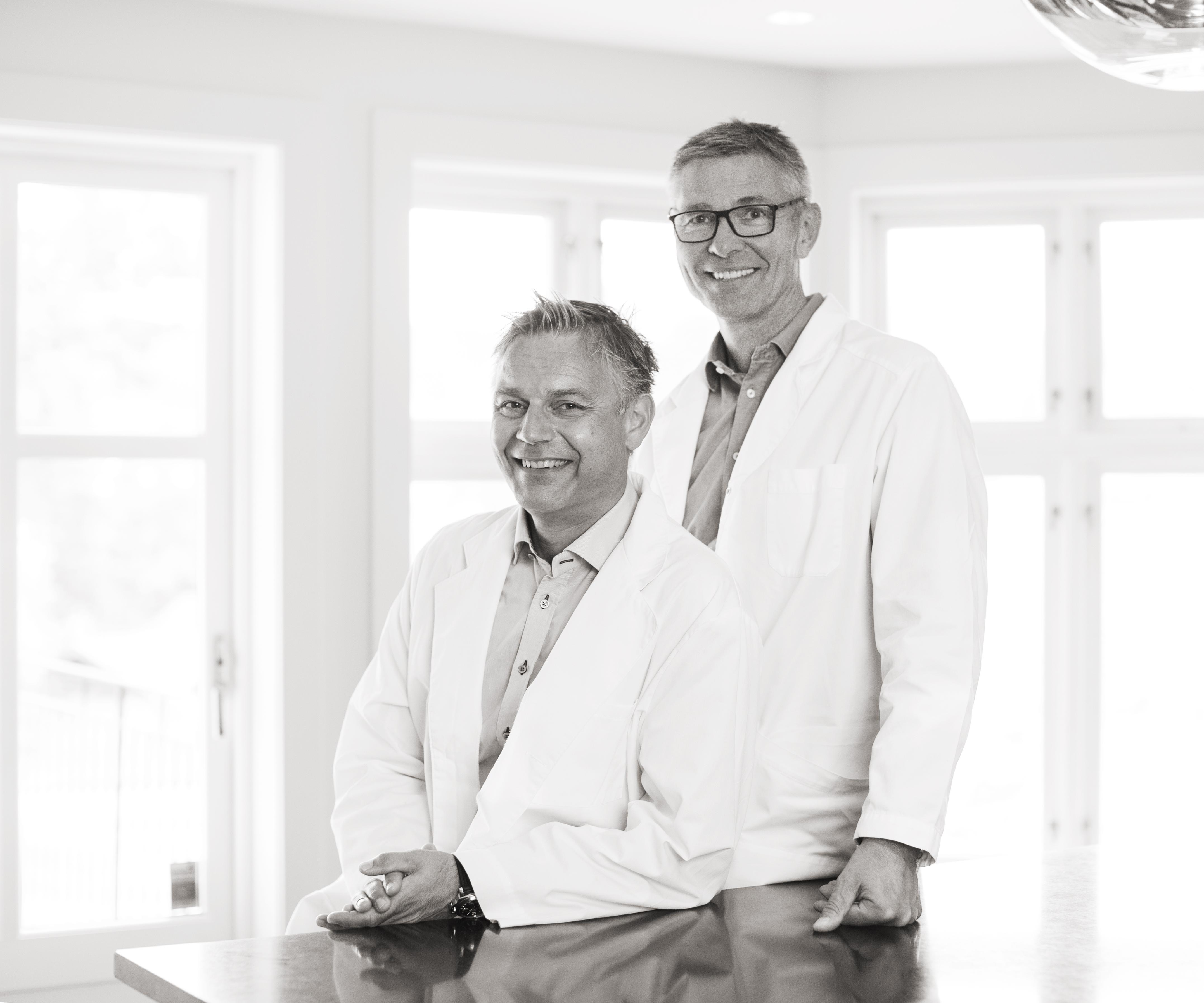 Dr. Tom Ørner og Dr. Christian Busch